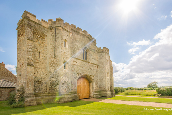 The Abbey at Pentney Abbey wedding venue in Norfolk | CHWV