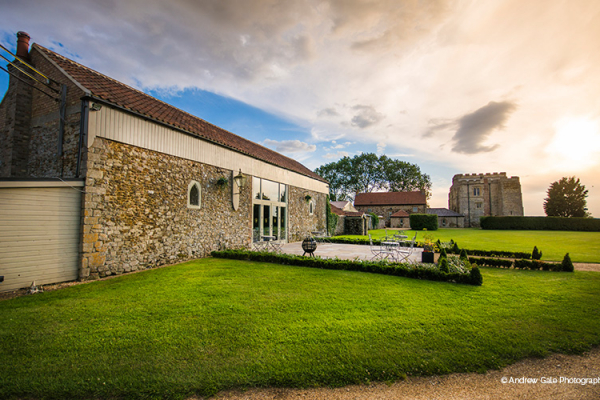 The Bar at Pentney Abbey wedding venue in Norfolk | CHWV