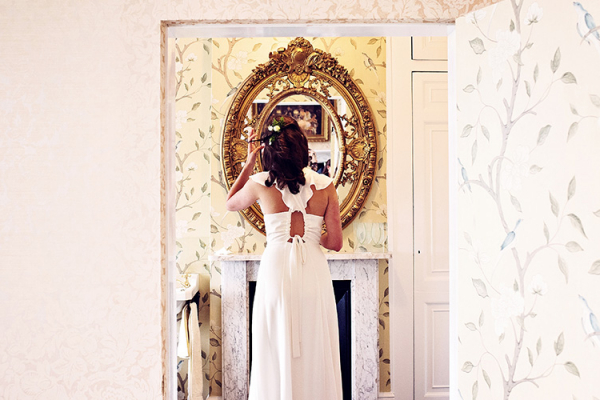The Bridal Room at Penton Park country house wedding venue in Hampshire | CHWV