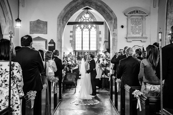 The village church near Penton Park wedding venue in Hampshire | CHWV