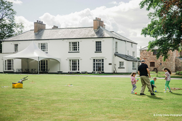 The Grounds at Pentre Mawr Country House | Wedding Venues North Wales