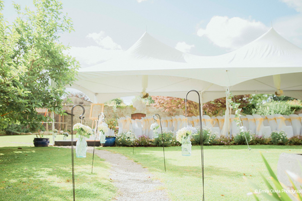 Outdoor Wedding at Pentre Mawr Country House | Wedding Venues North Wales