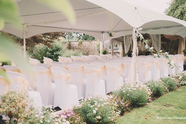 Outdoor Ceremony at Pentre Mawr Country House | Wedding Venues North Wales