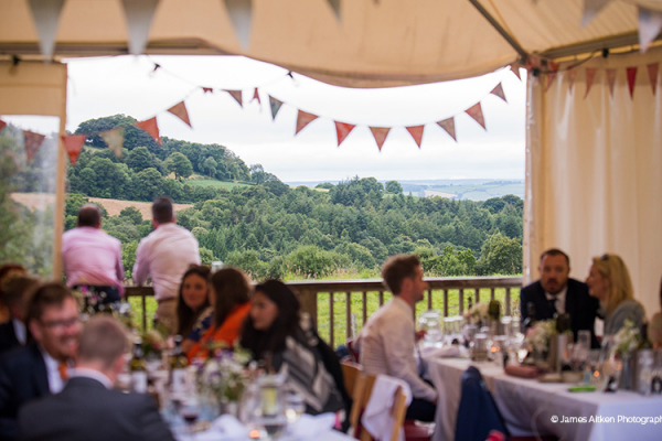 The glorious views from River Cottage wedding venue in Devon | CHWV