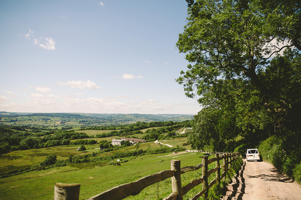 The gorgeous views from River Cottage