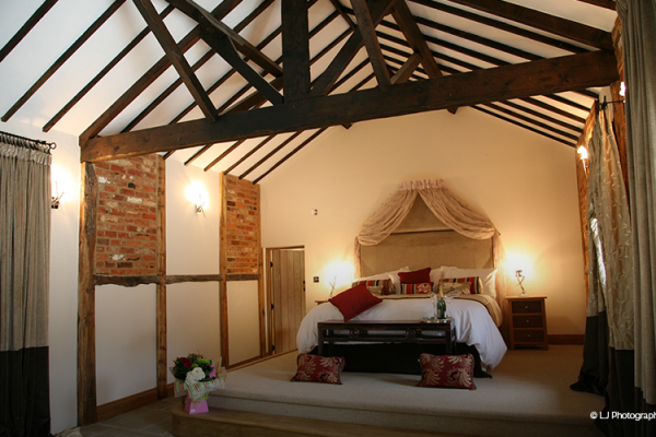 The Honeymoon Suite at Rivervale Barn