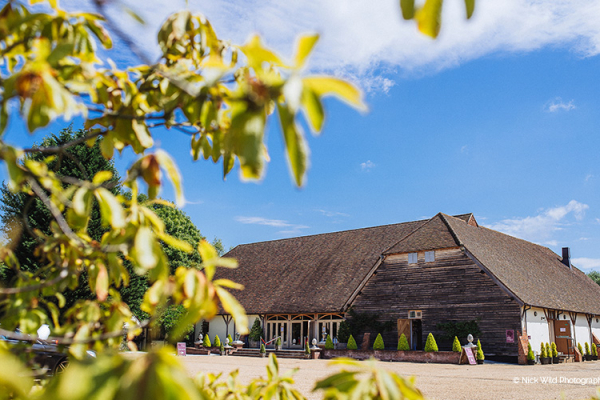 Rivervale Barn wedding venue in Hampshire | CHWV