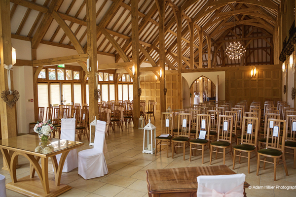 Ceremonies at Rivervale Barn | Wedding Venues Hampshire