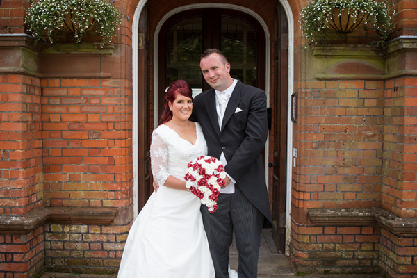 Just married at Robert Denholm House wedding venue in Surrey | CHWV