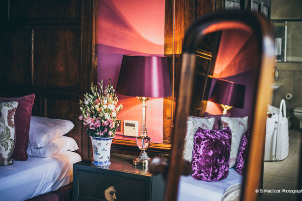 Luxury accommodation at Rowton Castle wedding venue in Shropshire | CHWV