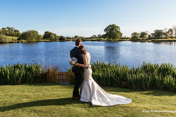 Photos by the Lake at Sandhole Oak Barn | Wedding Venues Cheshire