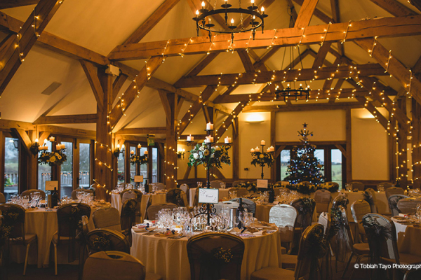 Evening Reception at Sandhole Oak Barn | Wedding Venues Cheshire
