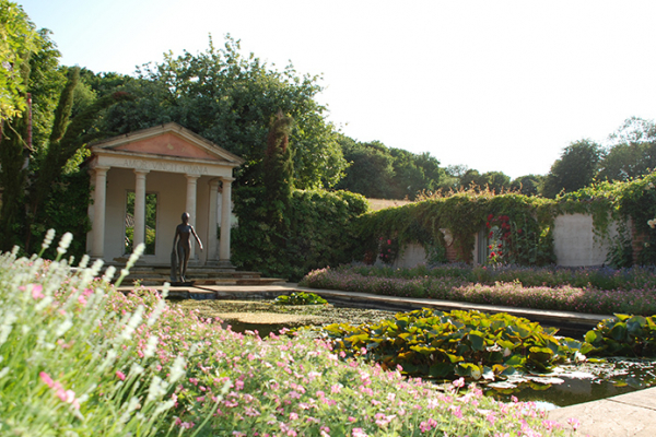 The Roman Garden at Sedgeford Hall