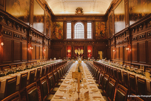 The Great Hall at Skinners Hall wedding venue in London | CHWV