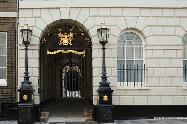 The Entrance Gate to Skinners Hall wedding venue in London | CHWV
