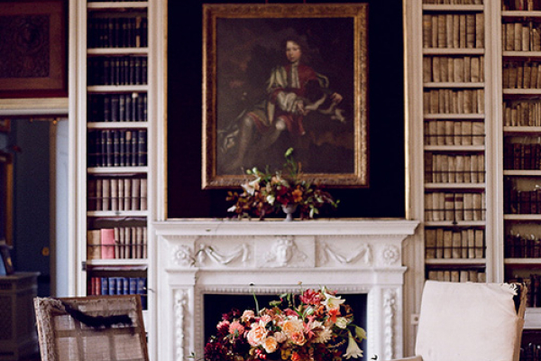 The Library at St Giles House wedding venue in Dorset | CHWV