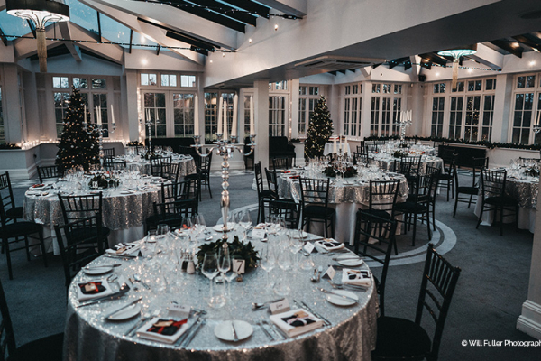 Winter Wedding Breakfast at Swynford Manor | Wedding Venues Cambridgeshire