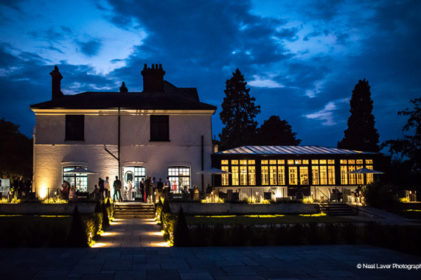 Nighttime at Swynford Manor | Wedding Venues Cambridgeshire