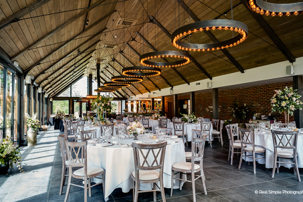 Wedding Breakfast at Syrencot | Wedding Venues Wiltshire