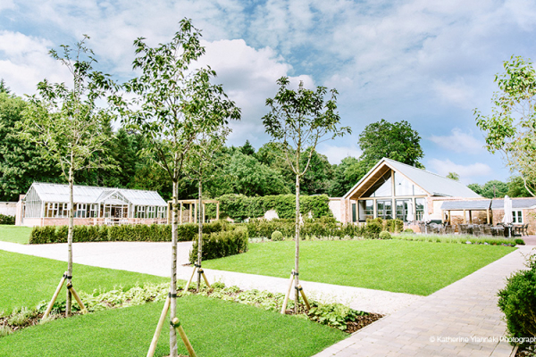 The Beautiful Gardens at Syrencot | Wedding Venues Wiltshire