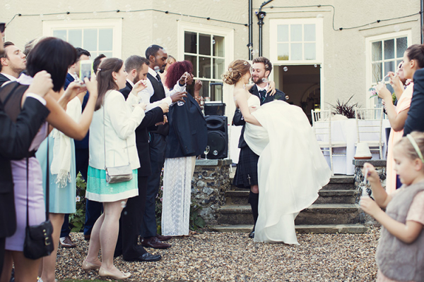 Just married at That Amazing Place wedding venue in Essex | CHWV