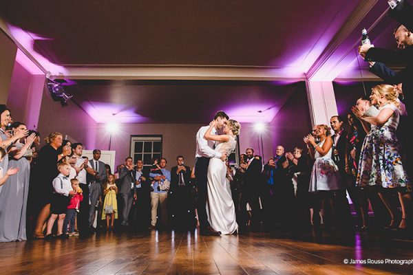First dance at That Amazing Place wedding venue in Essex | CHWV