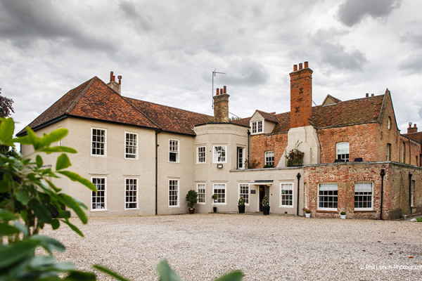 The courtyard at That Amazing Place wedding venue in Essex | CHWV
