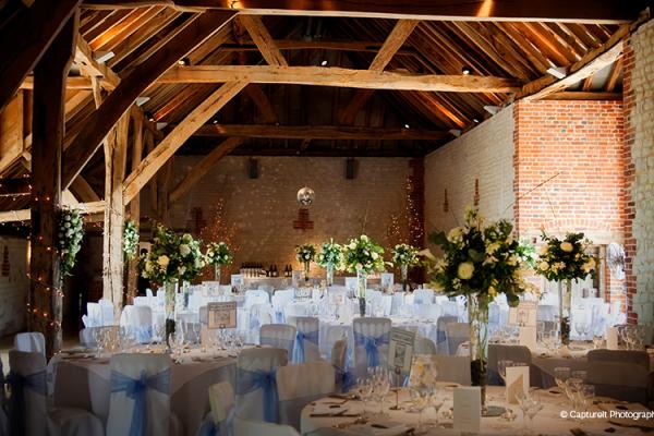 Wedding venues surrey barns