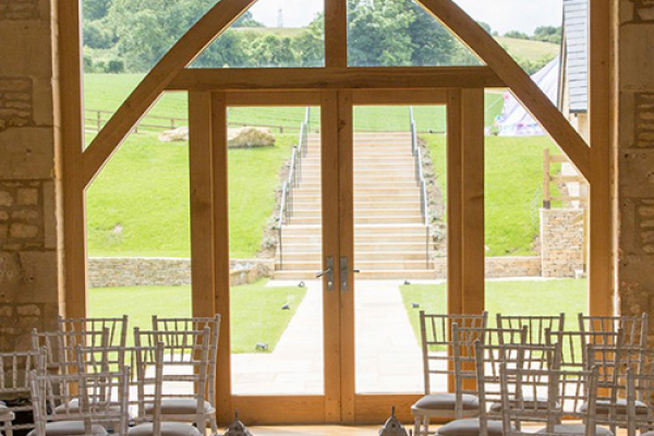 The Threshing Barn at The Barn at Upcote wedding venue in Gloucestershire | CHWV