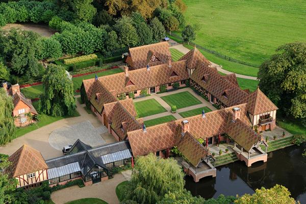 The Dairy Waddesdon Manor Buckinghamshire Waterside