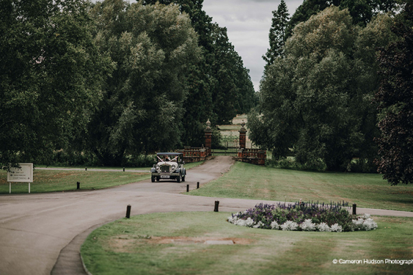 The driveway and grounds at The Elvetham country house wedding venue in Hampshire | CHWV