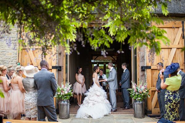 Tythe barn theatre wedding