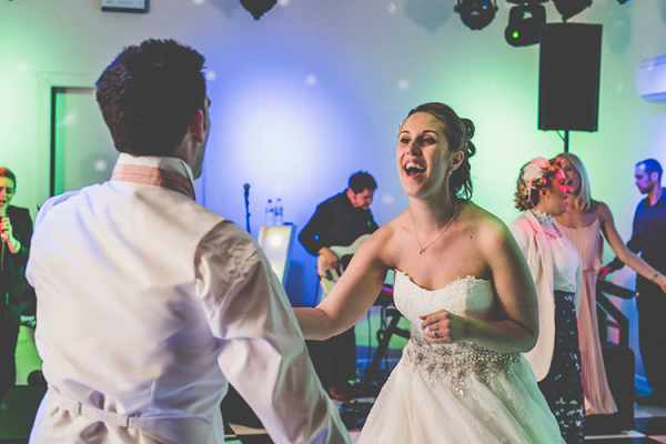First dance at Thursford Garden Pavilion wedding venue in Norfolk | CHWV