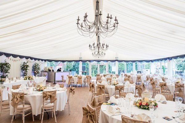 The Garden Pavilion At Thursford Marquee Wedding Venue In Norfolk