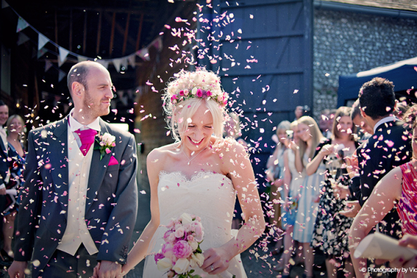 Rustic wedding barns in West Sussex - Upwaltham Barns