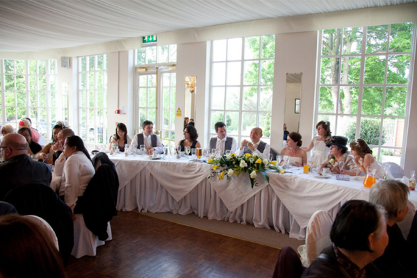 Marquee wedding receptions - Warwick House