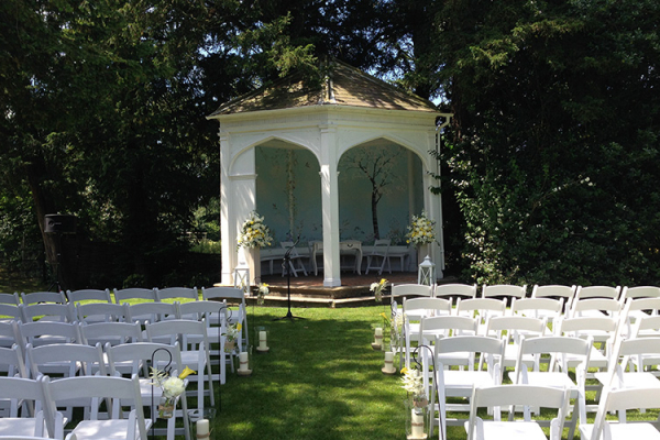 Outdoor Ceremony at Wasing Park | Wedding Venues Berkshire
