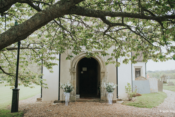 Church Entrance at Wasing Park | Wedding Venues Berkshire