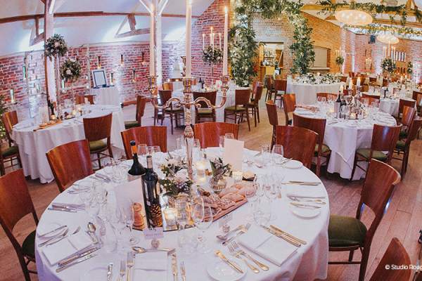 Wedding Breakfast at Wasing Park | Wedding Venues Berkshire
