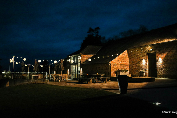 Nighttime at Wasing Park | Wedding Venues Berkshire