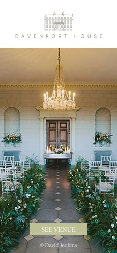 Davenport House - Country House Wedding Venue in Shropshire