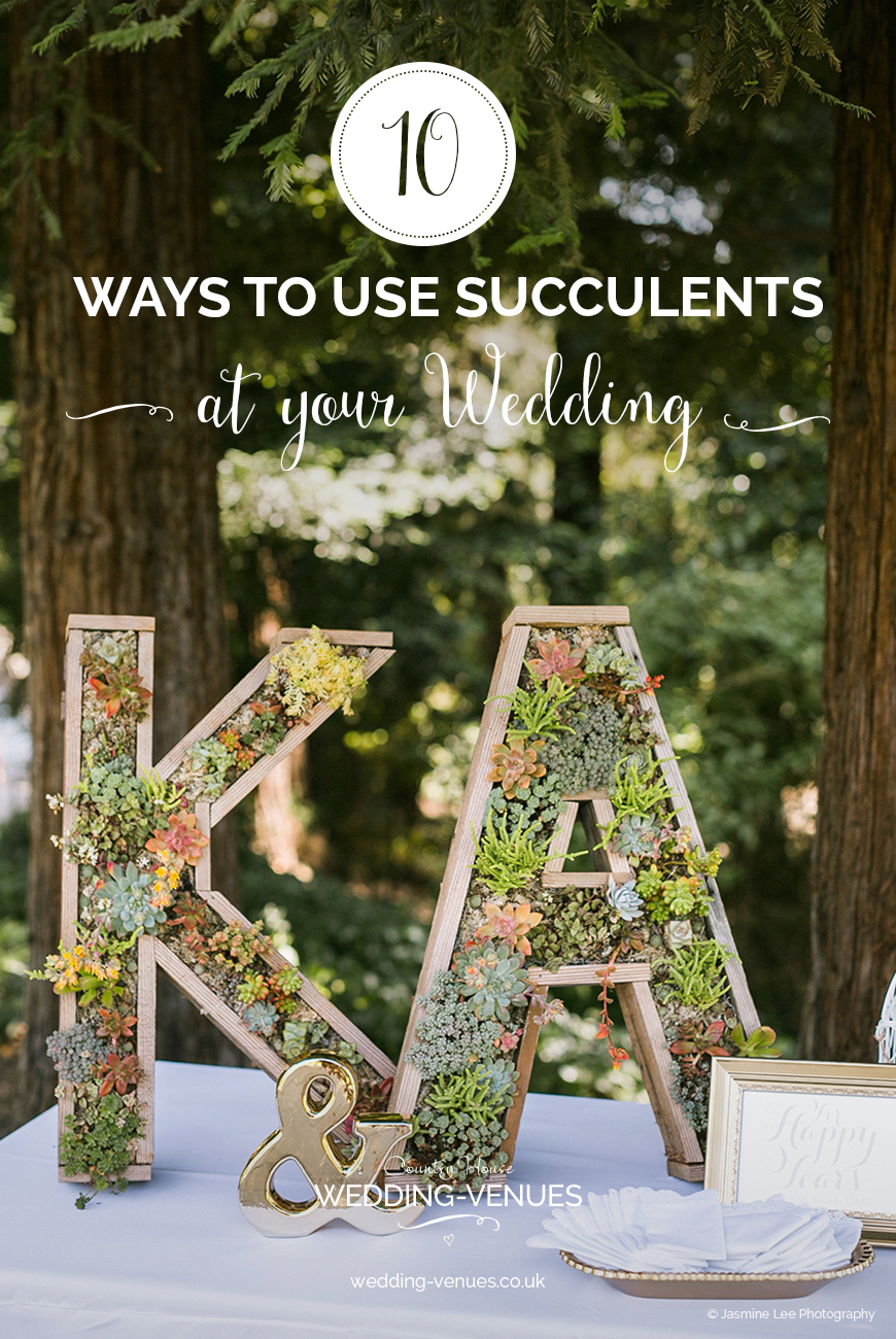 10 Ways To Use Succulents At Your Wedding | CHWV
