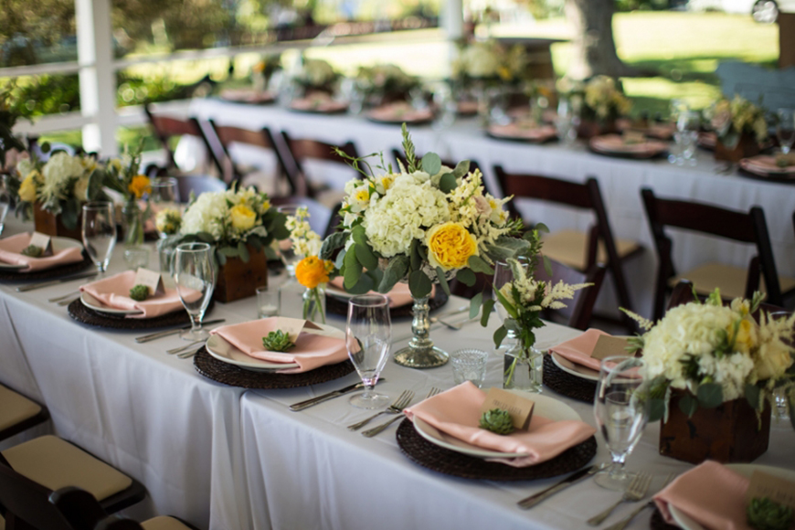 10 Ways To Use Succulents At Your Wedding - Place setting | CHWV