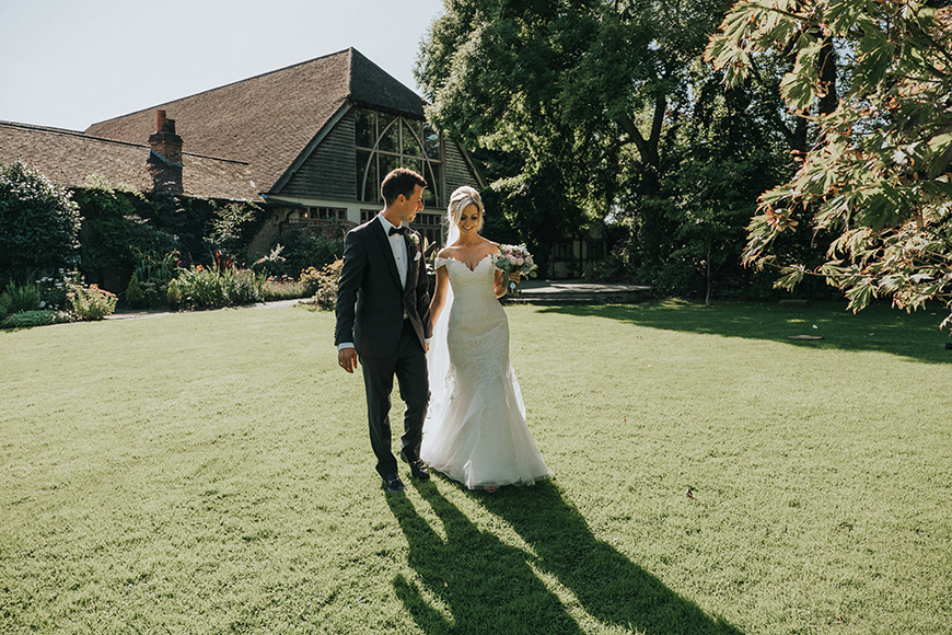 9 Garden Wedding Venues That Are Perfect For Summer - Rivervale Barn | CHWV