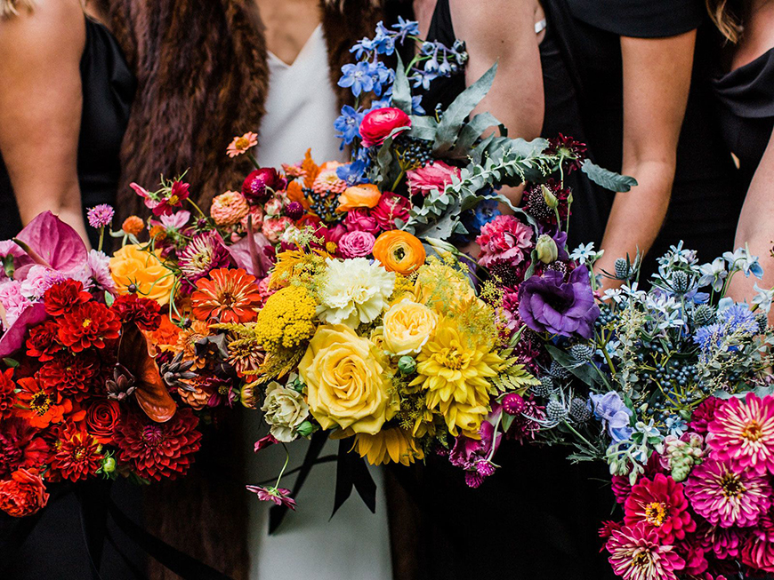 Spectacular Summer Wedding Flowers - Enchanting annuals | CHWV