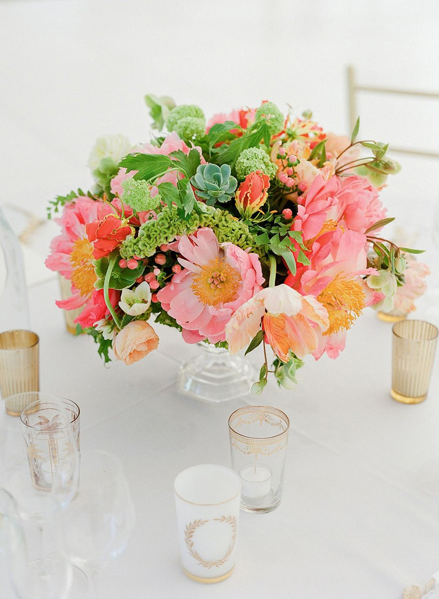 Spectacular Summer Wedding Flowers - Perfect peonies | CHWV