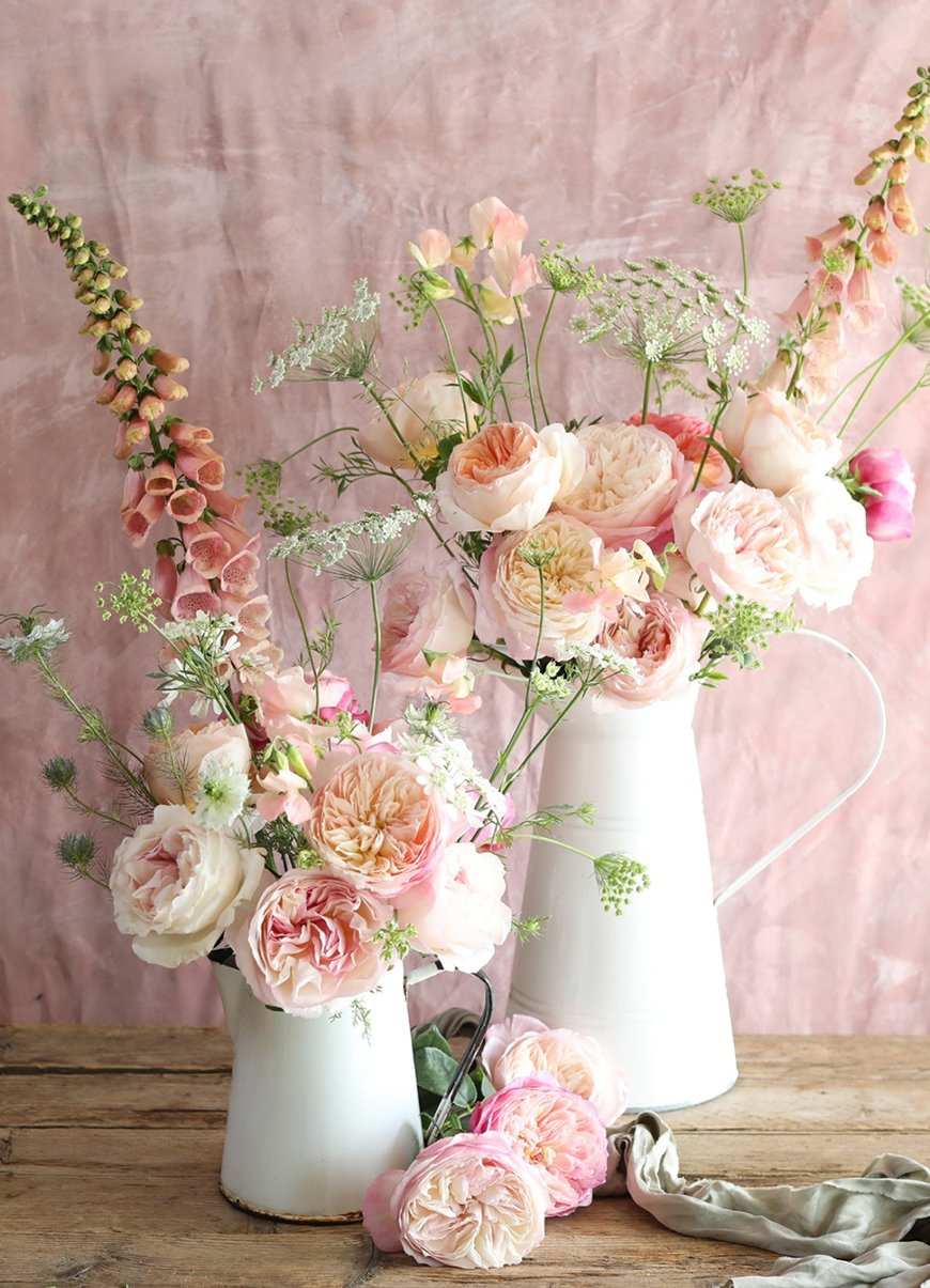 Spectacular Summer Wedding Flowers - Romantic roses | CHWV