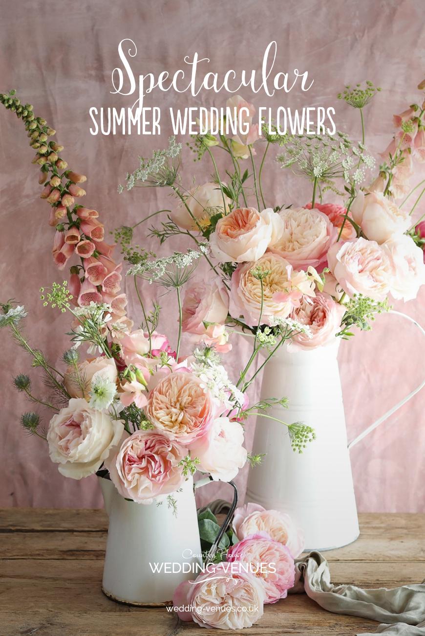 Spectacular Summer Wedding Flowers | CHWV