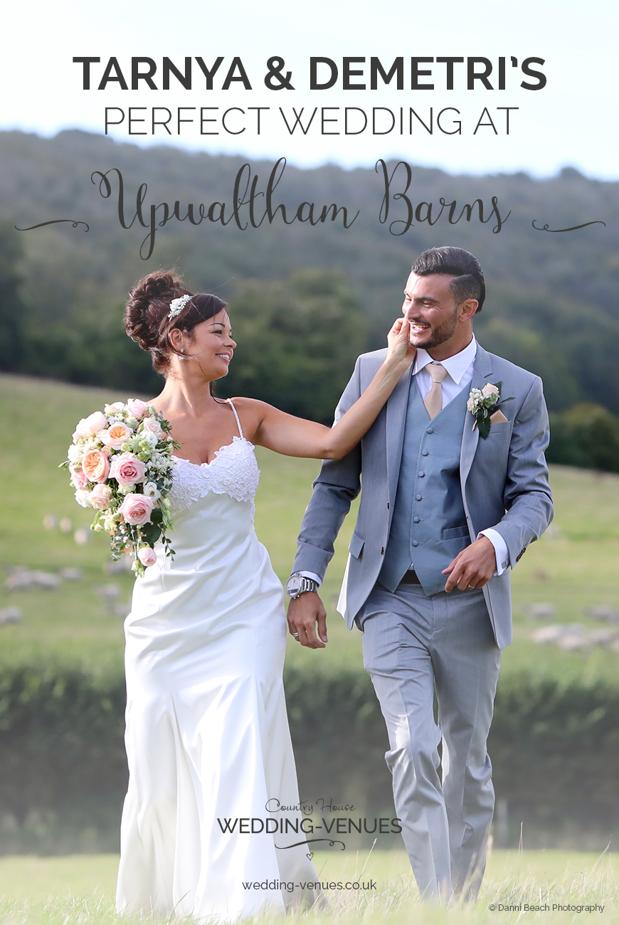 Tarnya and Demetri's Perfect Wedding At Upwaltham Barns | CHWV