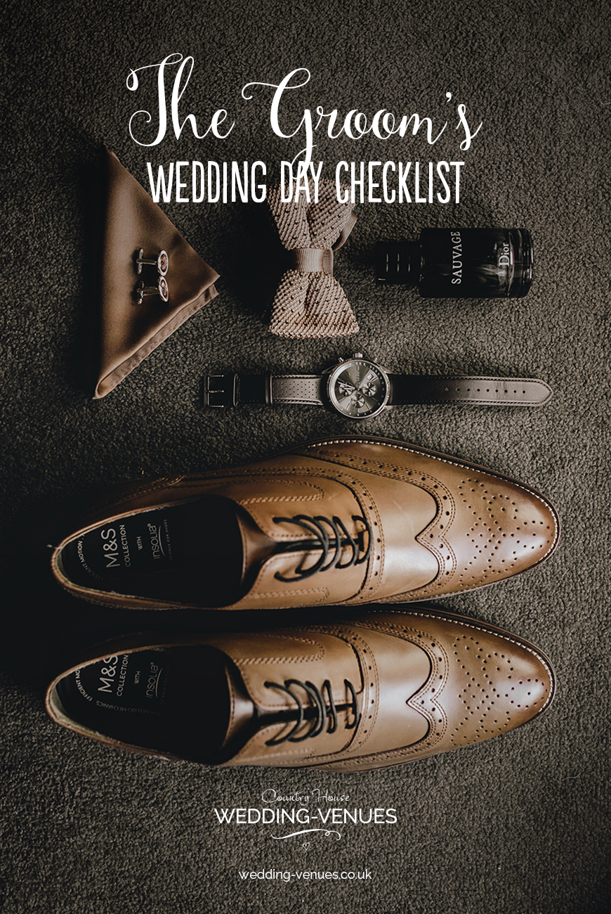 The Groom's Wedding Day Checklist | CHWV